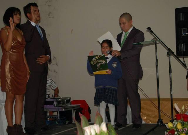 Ceremonia de Posesión nuevas Autoridades del Gobierno de Pomasqui